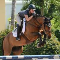 Sarah Johnstone and Granturo Flying High in Florida